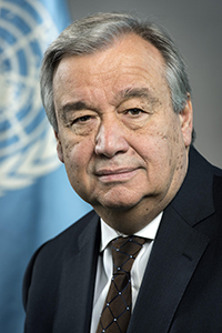 Photo: Antonio Guterres